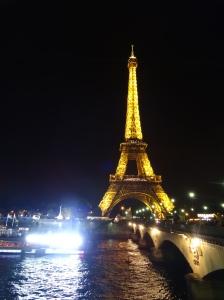 The Eiffel at night