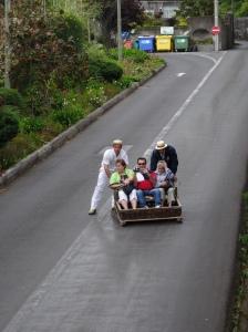 Wicker Toboggan Sled Rides