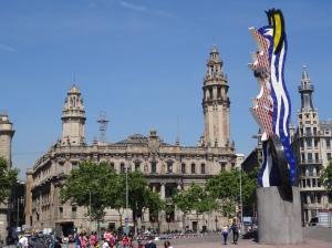 Barcelona Face, designer Roy Lichtenstein