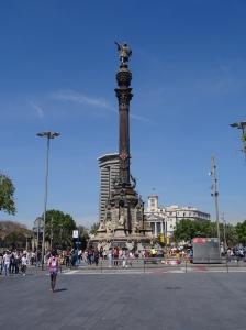 Barcelona Colon (Christopher Columbus) Statue