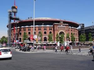 Plaça de Toros de les Arenes (Arenas de Barcelona) now a Commercial Center - Note: Beattles played here in 1966