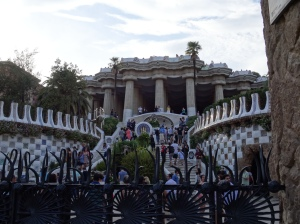 Park Entrance - One of Two Houses Built for the Original Guell subdivision