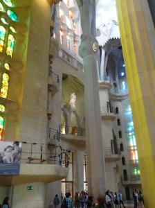 La Sagrada Familia designed to use natural light