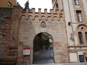 Gate to the Montserrat Monastery