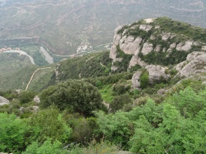 Montserrat Mountain has many hiking trails and great views