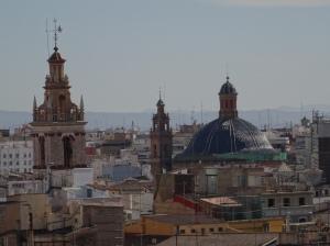 Valencia from the Torres de Serrano