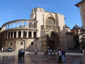 Cathedral of Santa Maria, also know as Cathedral of Valencia