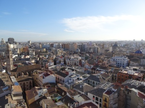 Valencia from the Miguelete Tower