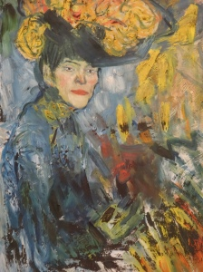 Reina Sofía-Picasso-1901 Woman in the Loge