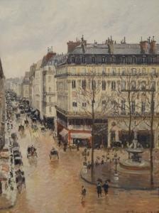 Pissarro 1897 – Effect of Rain