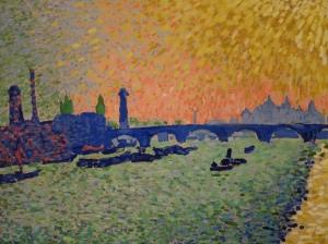 Andre Derain 1906 - Waterloo Bridge