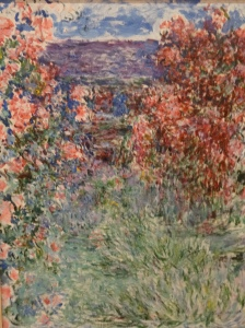 Claude Monet – The House amongst the Roses