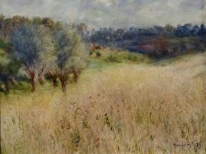 Pierre-Auguste Renoir – Wheatfields