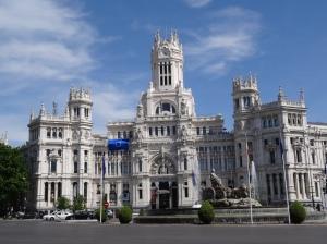 Palace of Cibele - Madrid City Hall - Formally Post Office