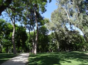 Parque del Buen Retiro, literally