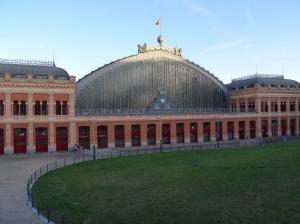 Madrid - Atocha Railway Station and a Hub for Metro Rail