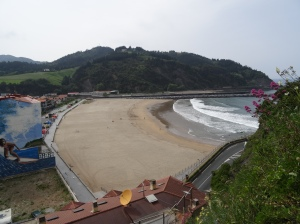 Deba's Santiago Beach - End of the hike from Zumaia