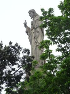 Jesus Statue on Monte Urgull