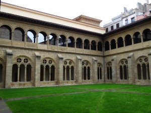 Courtyard of San Telmo Museum