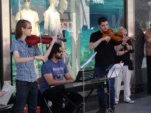 Musicians near the Puerta de Sol