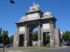 Puerta de Toleda - Gate to Madrid