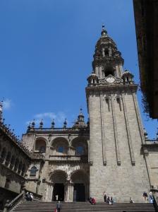 Basilica Santiago de Compostela - Side Entrance