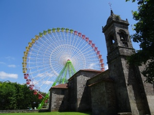 Iglesia de Susanna - with Ferris wheel
