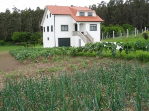 Little White House w/garden on route to Monte Predoso