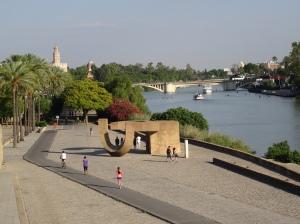 Riverwalk along the G