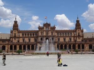 Plaza de Espana de Seville