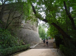 The hike up to Alhambra and Alcazaba