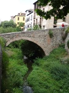 Bridge over the Darro River