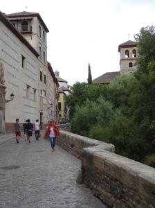 Granada along the Darro River