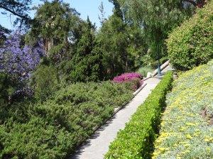 Walkway up to Castillo de Gibralfaro