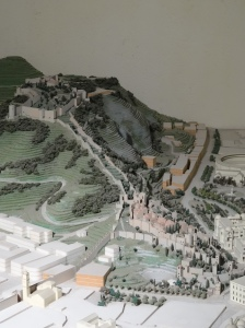 Model of the Castle of Gil and the Alaczaba
