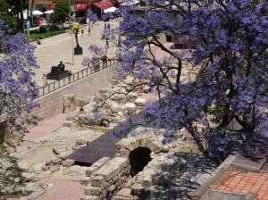 Entrance to the Roman Theatre