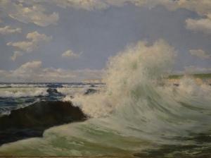 Picture-Juan Martinez Abades (1929) – Puerto Exterior y Abra de Bilboa and Punta Galea