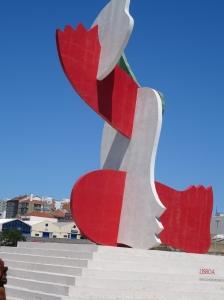 Expo 98 commemorative sculpture