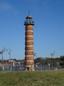 Old Belem lighthouse on Tagus River