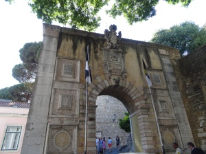 Entrance to Sao Jorge Castle