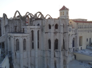 The Carmo Convent, ruins of the Gothic Church