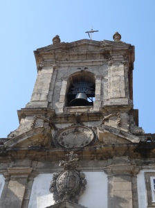 Picture = Small Bell Tower attached to the Casa de Despacho e Igreja dos Terceiros de Sao Francisco