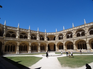 Museu de Arqueologia courtyard
