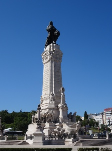 Monument to the Marquis of Pombal, the prime minister responsible for the rebuilding of Lisbon following the Great Earthquake in 1755,