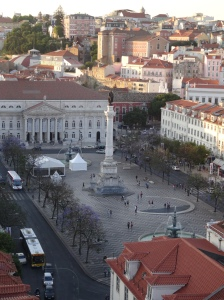 View from Santa Justa Lift - R Square