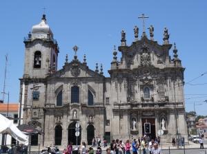 """The """"Igreja dos Carmelitas"""" and the """"Igreja do Carmo Horario Das Missas"""""""