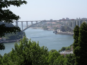 The Douro River and the Arrábida Bridge