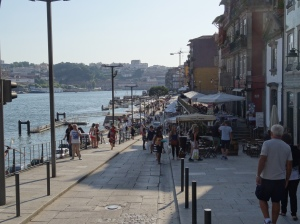 The Douro River riverwalk